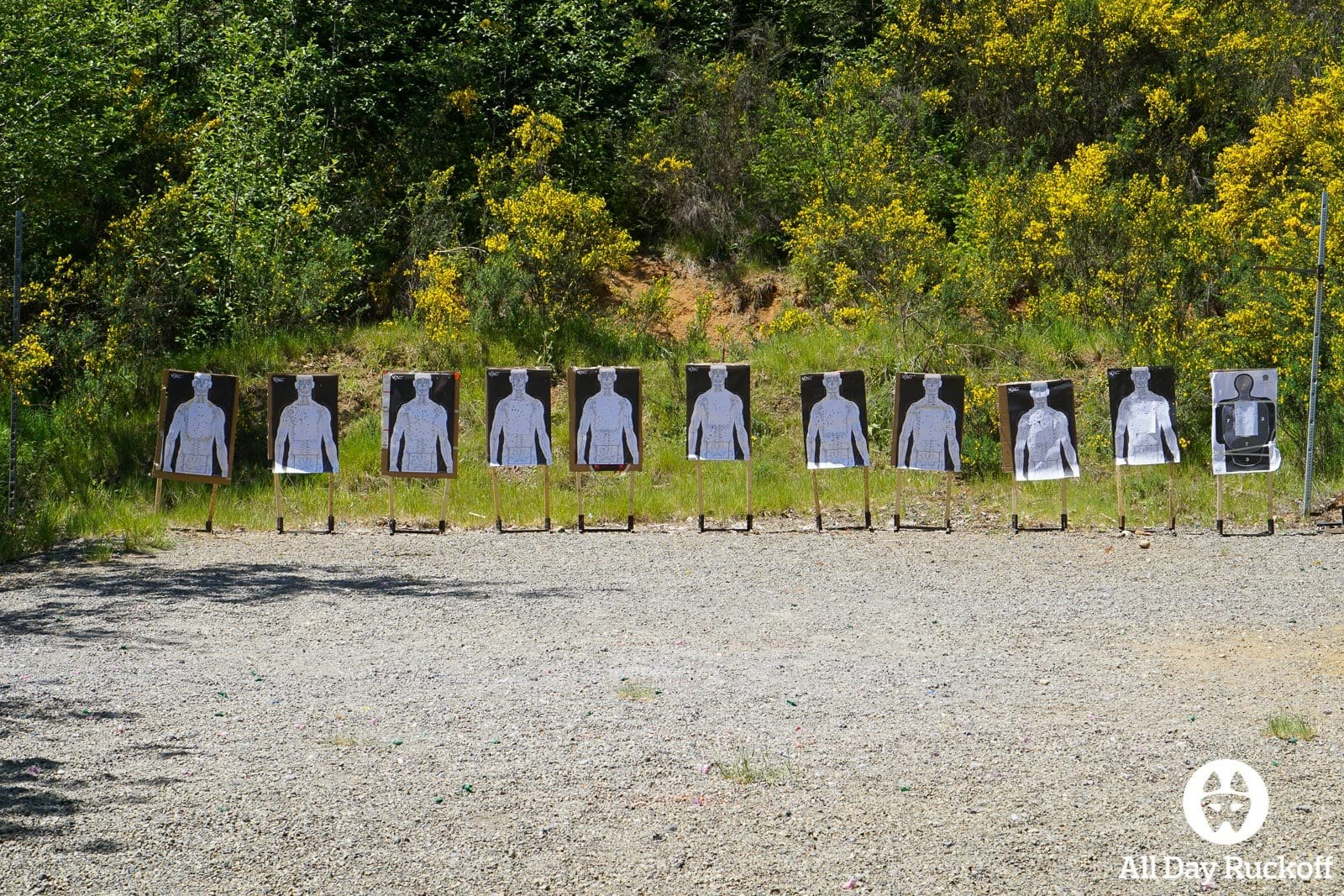 GORUCK FAD Seattle Pistol Targets