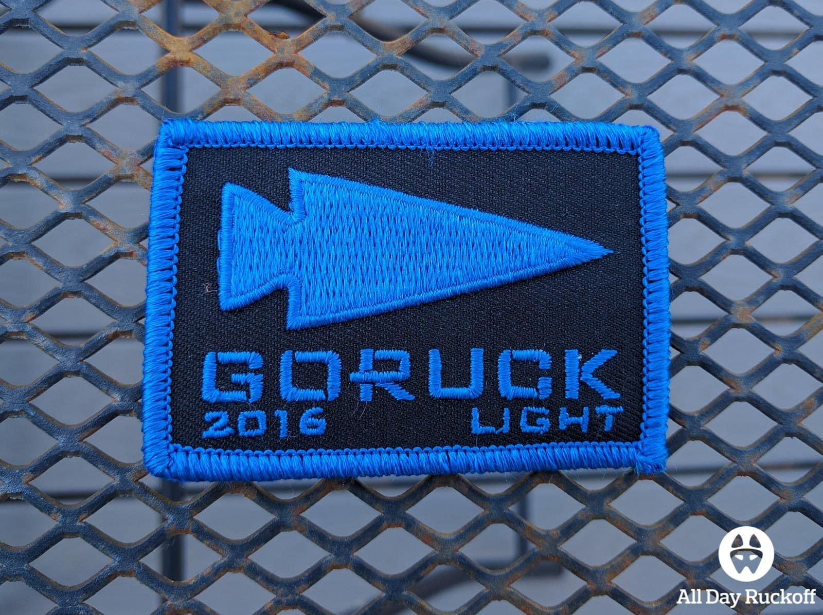 GORUCK Rucking University 004 - Light Patch