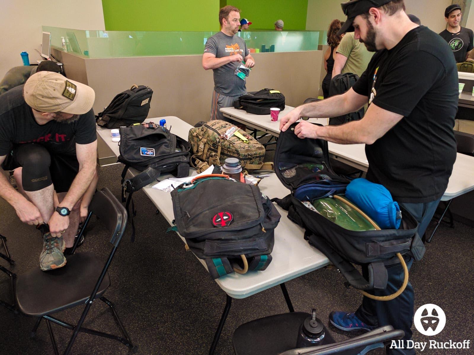 GORUCK Rucking University 004 - Packing Rucks