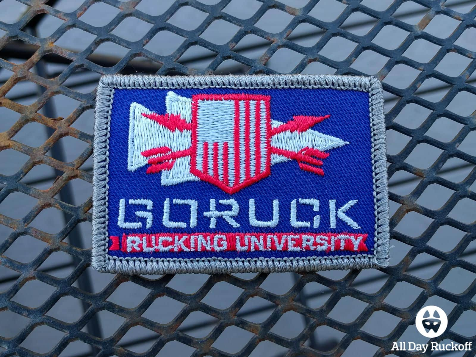 GORUCK Rucking University 004 - Rucking University Patch