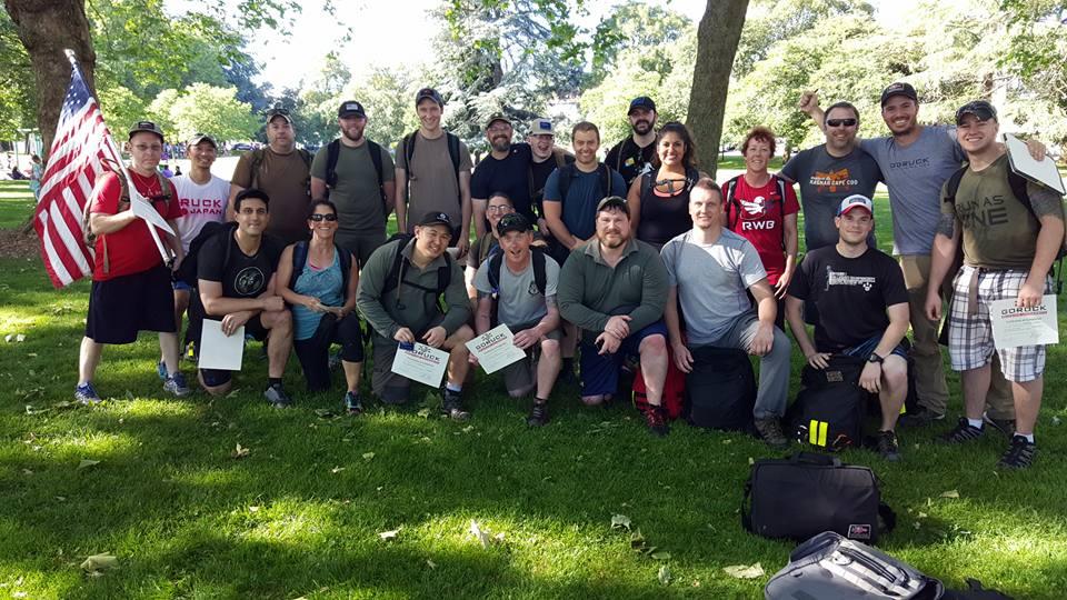 GORUCK Rucking University 004 Team Photo