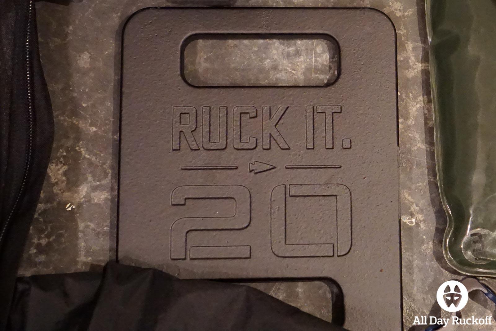 GORUCK 20 Pound Ruck Plate