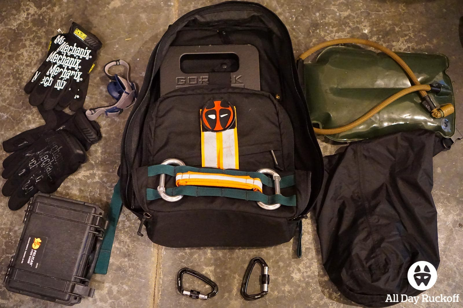 GORUCK Challenge 1999 - Packing