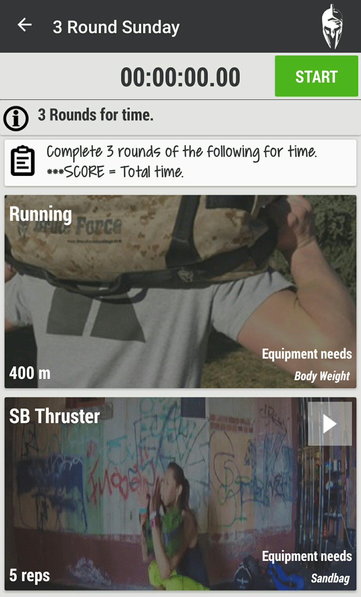 Brute Force App Workout