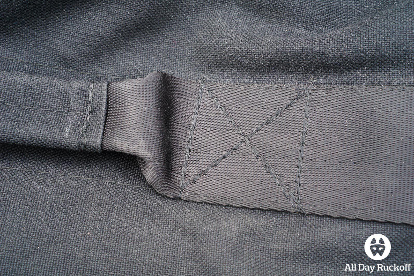 Brute Force Athlete Sandbag - Handle Sewing