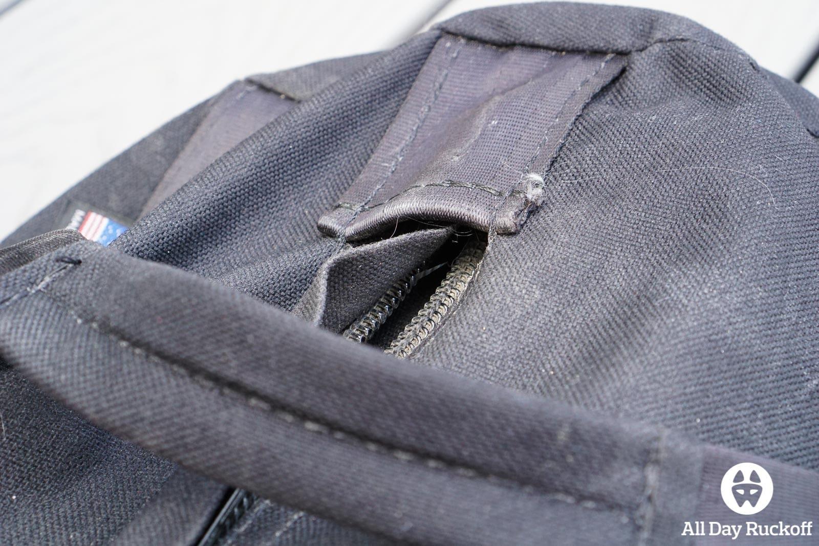Brute Force Athlete Sandbag - Zipper Pocket Empty