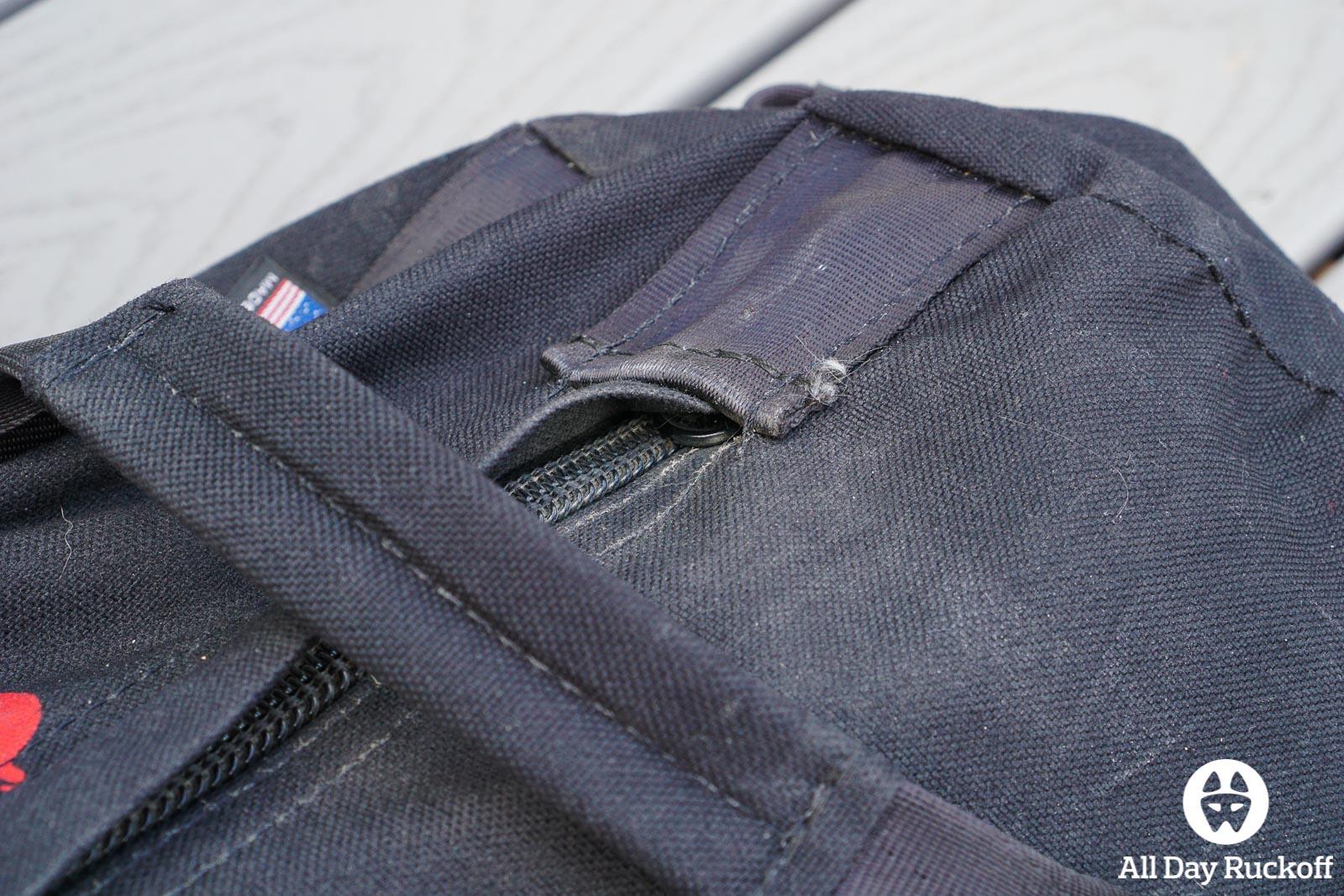 Brute Force Athlete Sandbag - Zipper Pocket Full