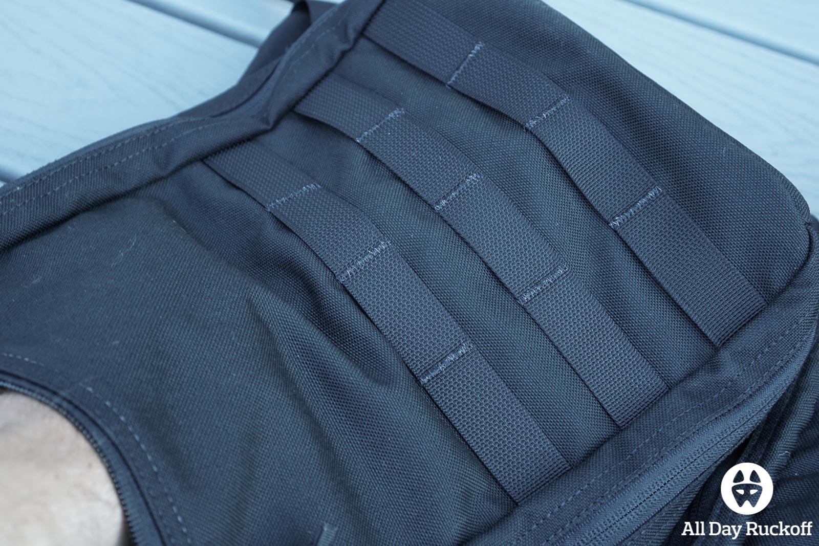 GORUCK Bullet Ruck 10L Comparison - Version 2 Outside Pocket