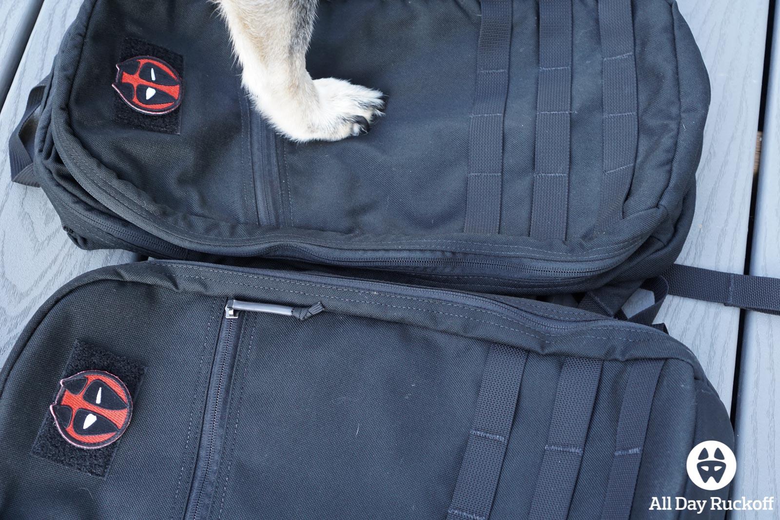 GORUCK Bullet Ruck 10L Comparison - Watson 3