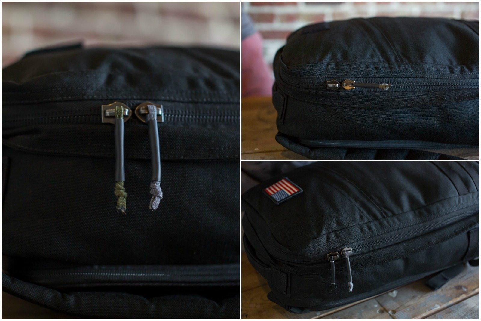 GORUCK Zipper Pull Collage