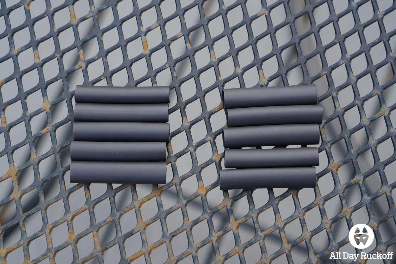 GORUCK Zipper Pull Kit - Heat Shrink