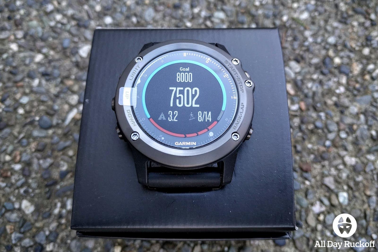 Garmin Fenix 3 HR - Box Watch