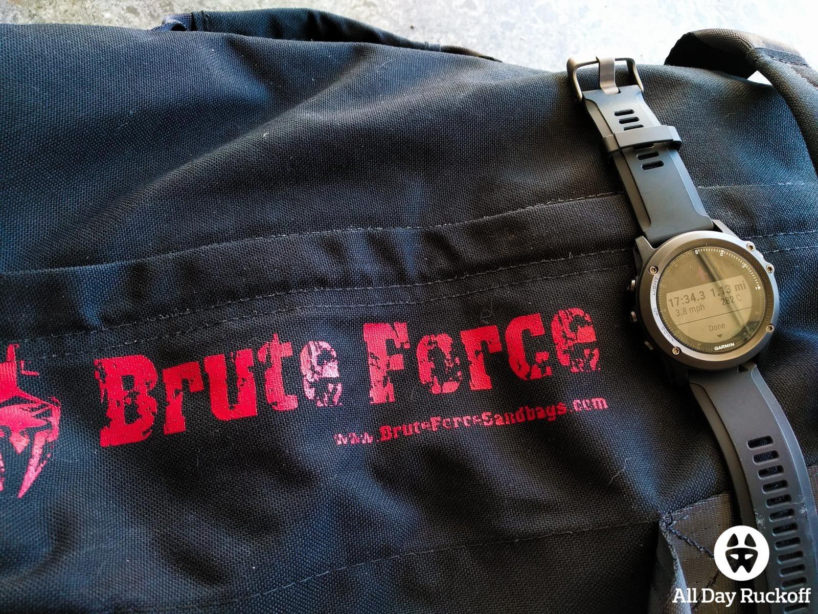 Garmin Fenix 3 HR - Brute Force Sandbag