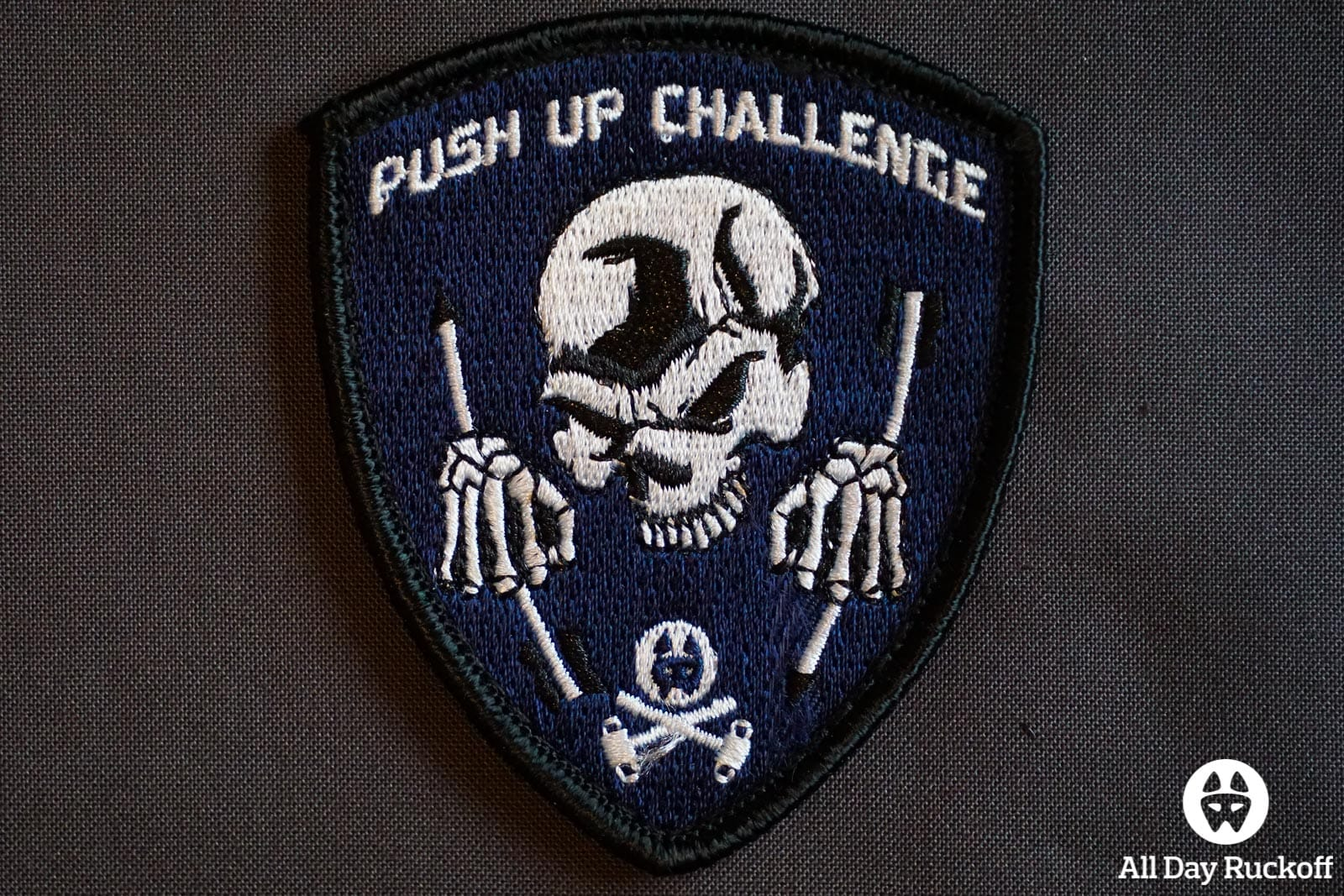 Push Up Challenge Patch - Shield