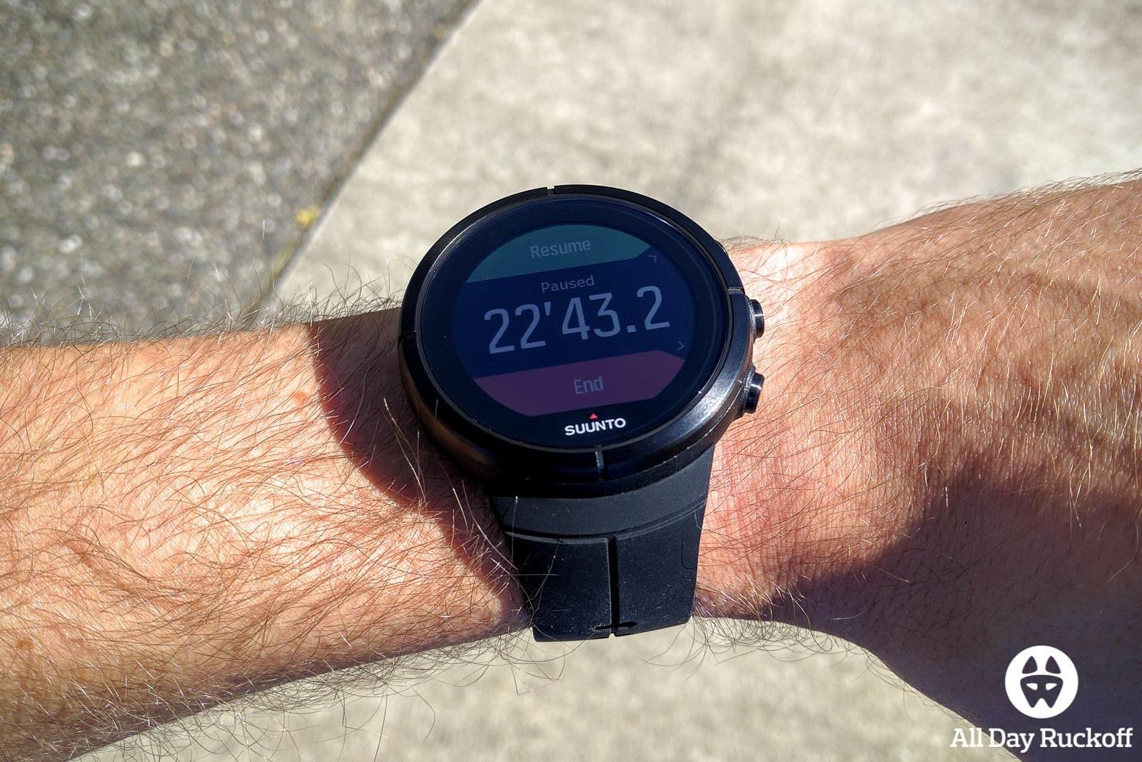 Suunto Spartan Ultra - Run Complete