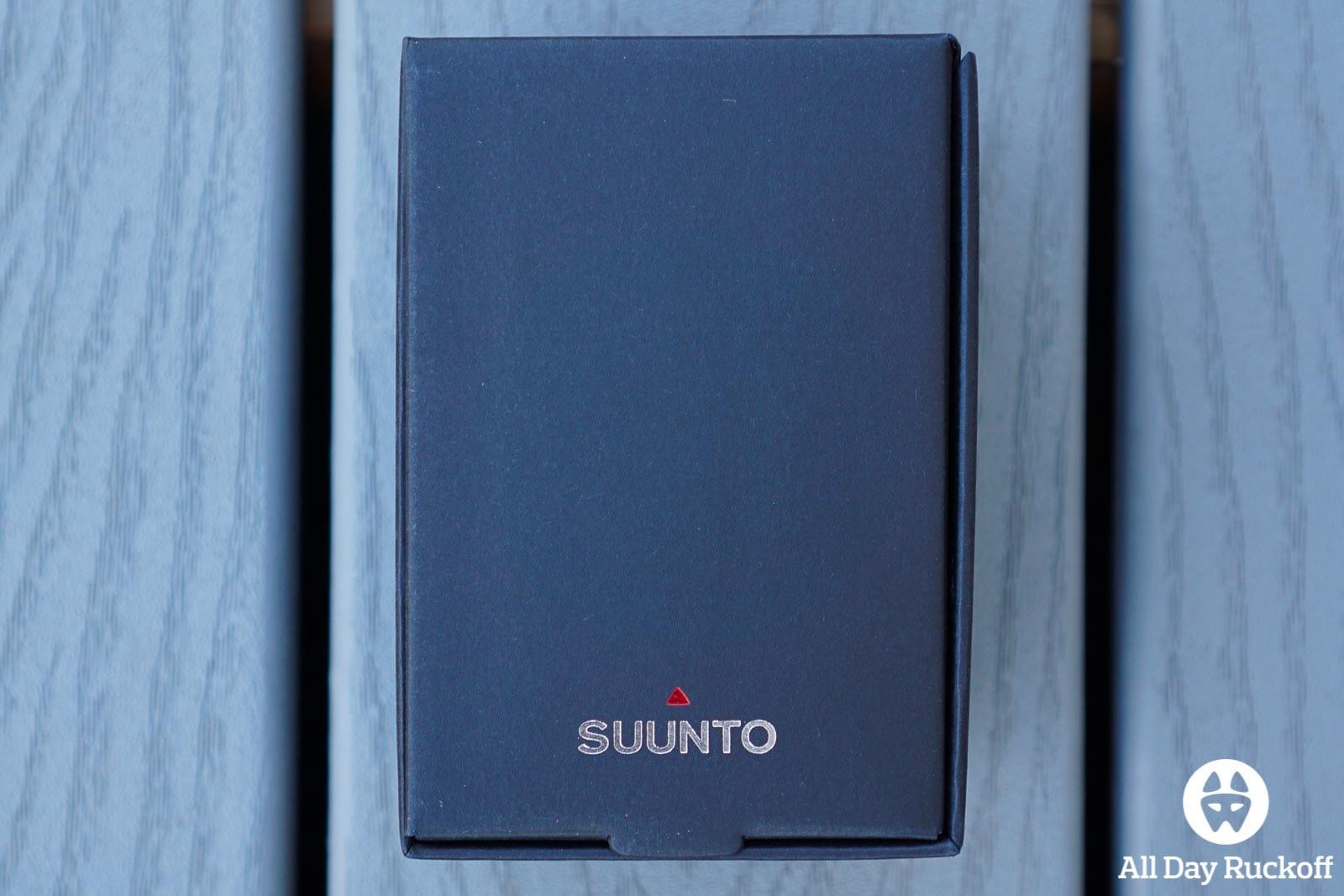 Suunto Spartan Ultra Titanium Black - Box
