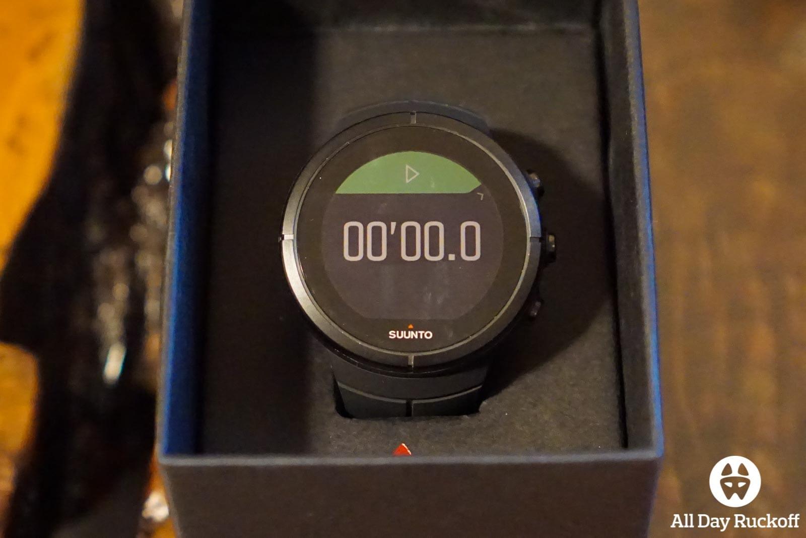 Suunto Spartan Ultra Titanium Black - Stopwatch Running