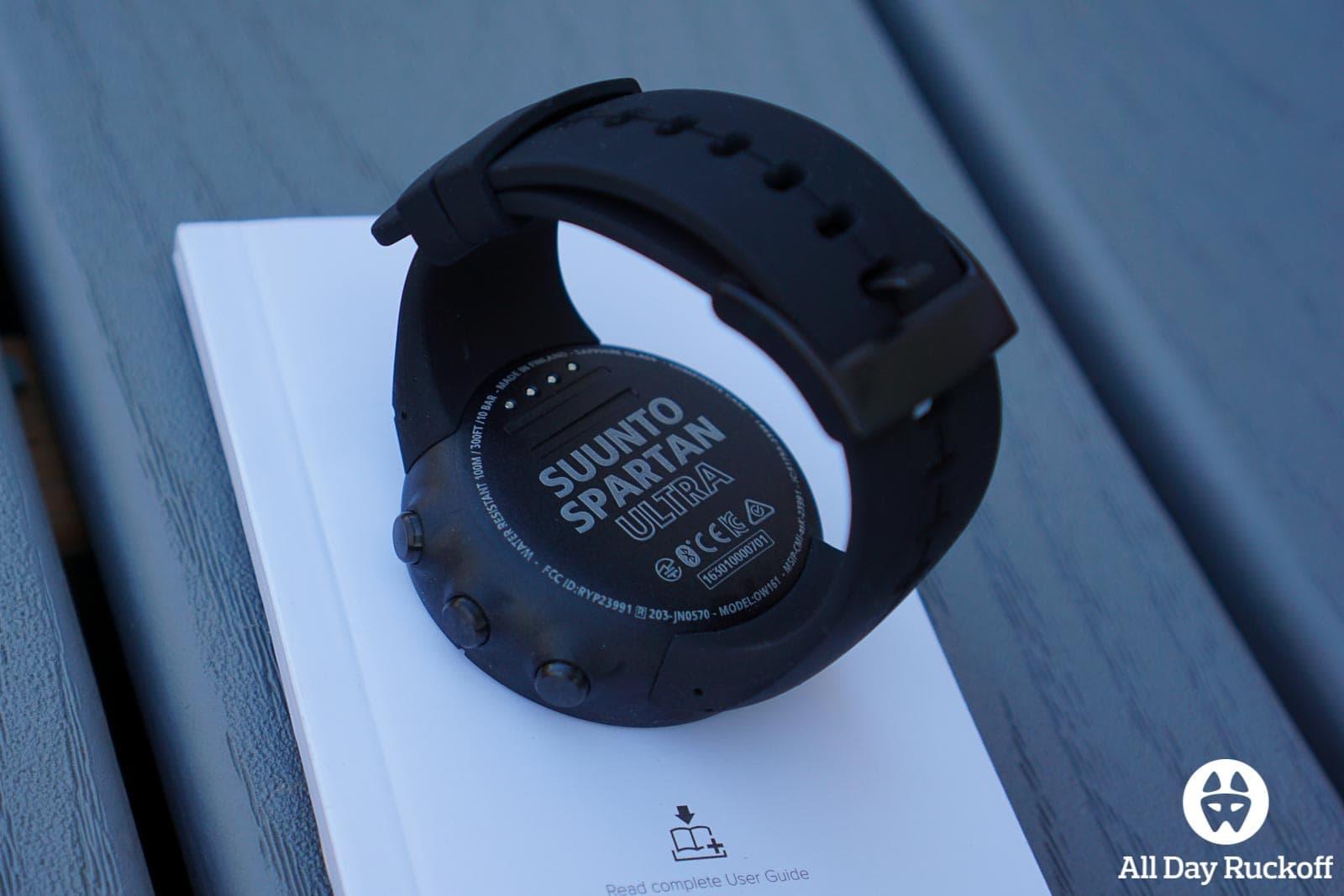 Suunto Spartan Ultra Titanium Black - Watch Bottom