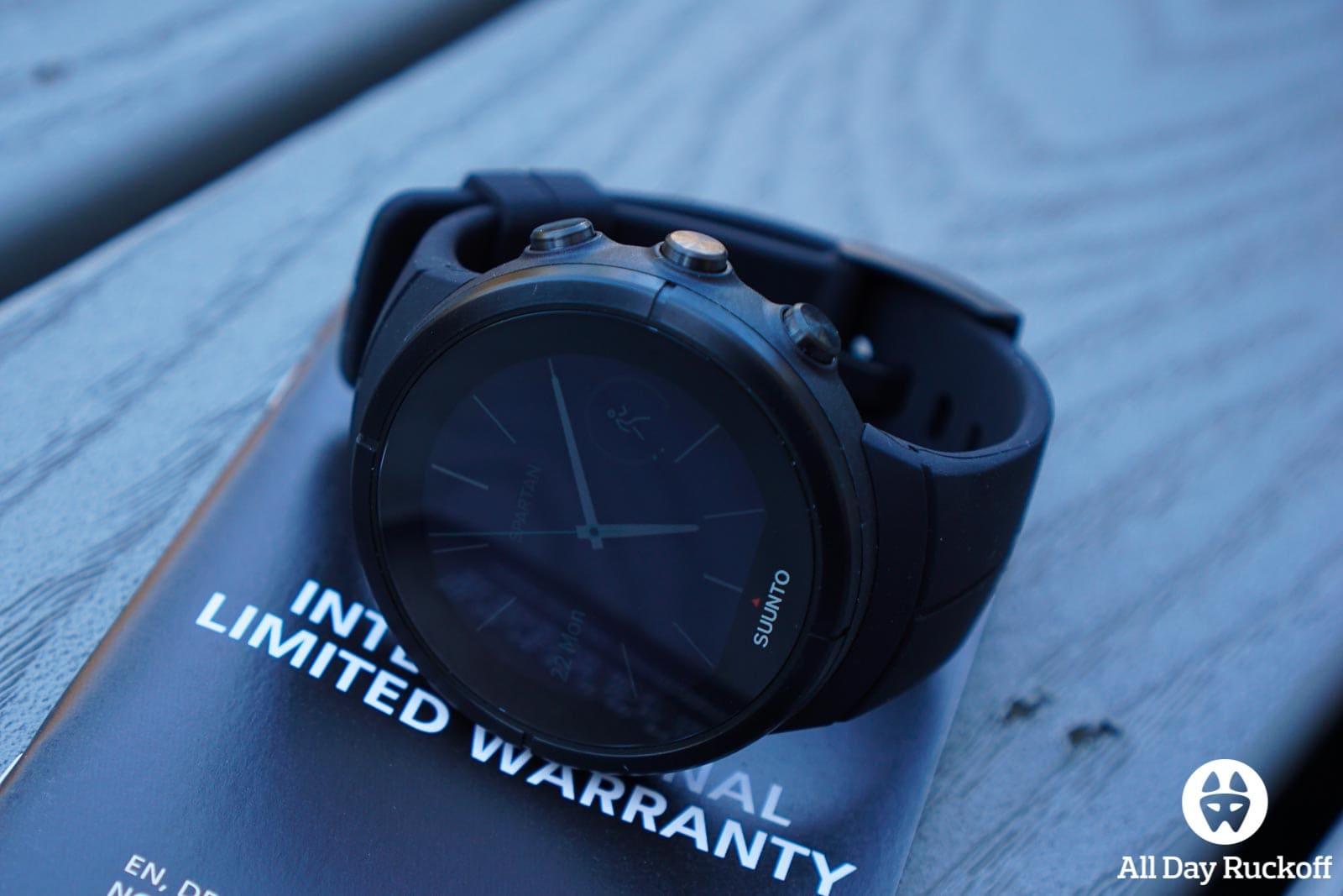 Suunto Spartan Ultra Titanium Black - Watch Face