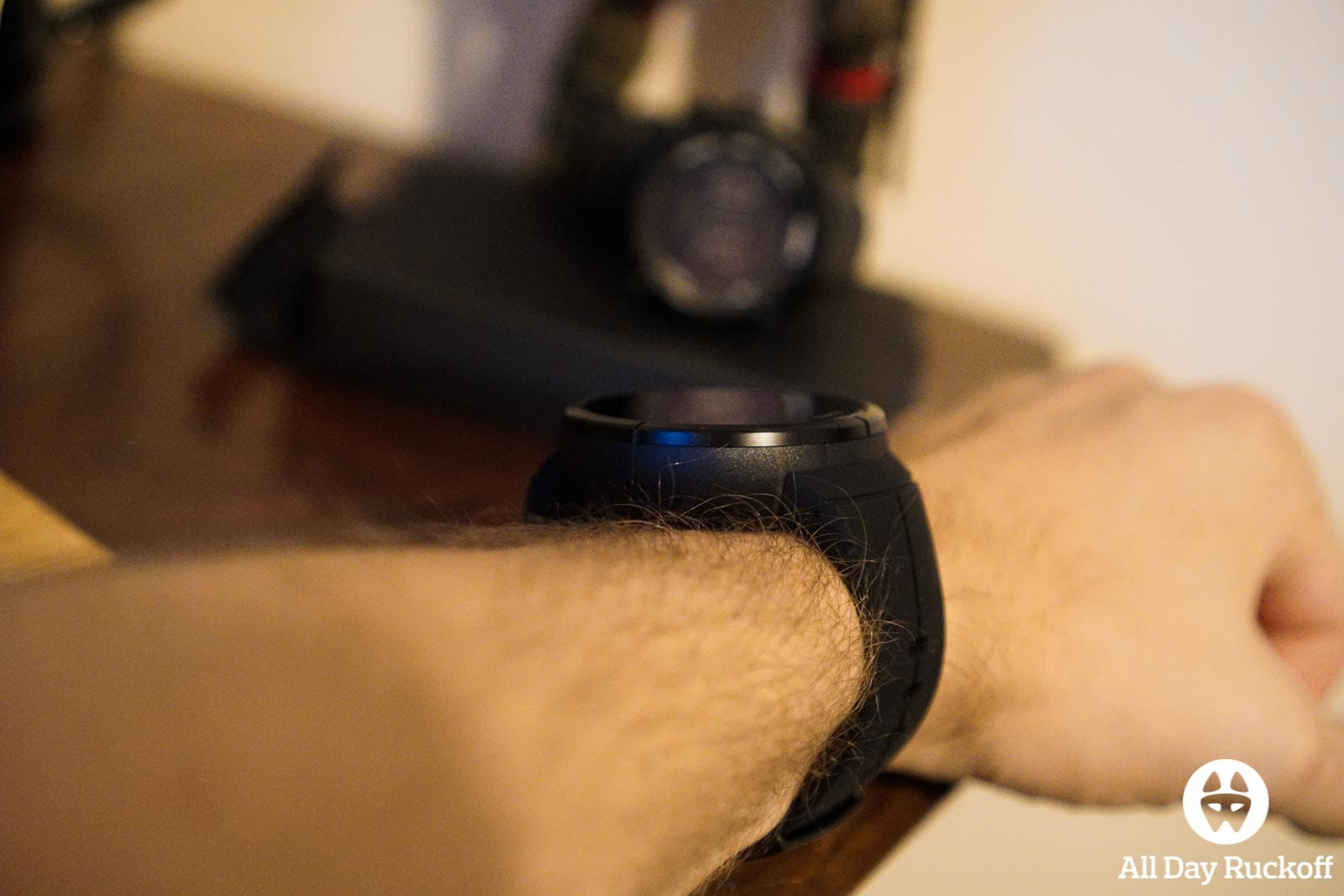 Suunto Spartan Ultra Titanium Black - Wrist