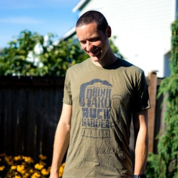 Drink Hard Ruck Harder T-Shirt