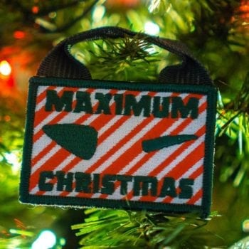 Maximum Christmas Patch