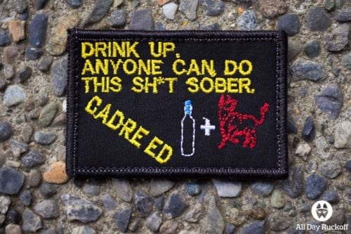 Cadre Ed Drink Up Patch