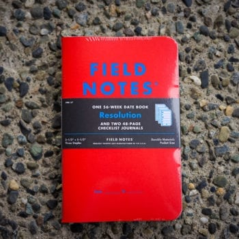 """Field Notes """"Resolution"""" Notebooks"""