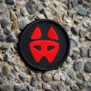 """All Day Ruckoff 2"""" Logo Patch"""