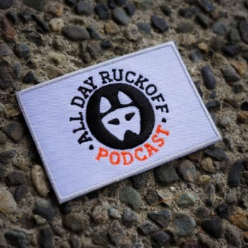 All Day Ruckoff Podcast Patch