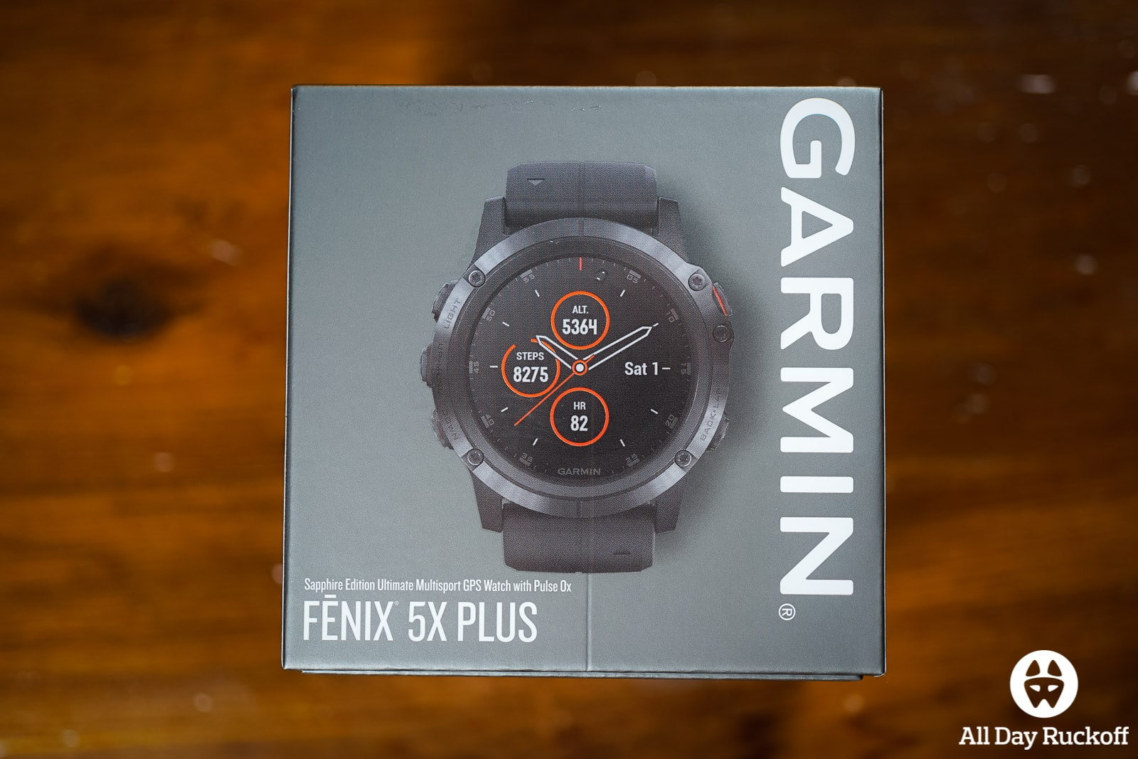 Garmin Fenix 5X Plus Preview & Initial Impressions - All Day Ruckoff