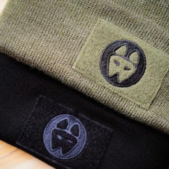 Knit Velcro Patch Caps