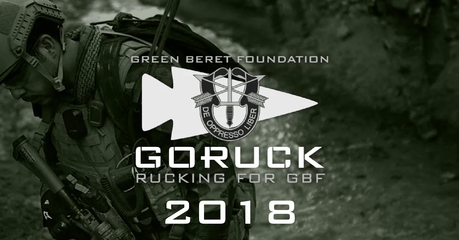 0647945eb3365 GORUCK Rucking For Green Beret Foundation 2018 - All Day Ruckoff