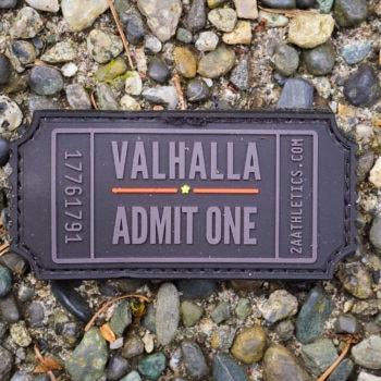 Valhalla Admit One PVC Patch