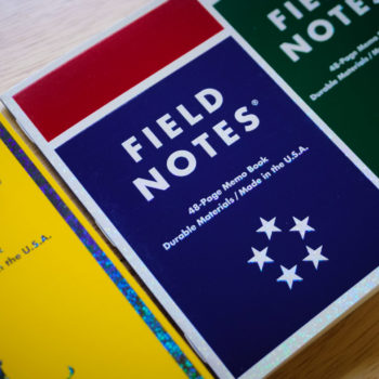 Field Notes Mile Marker Notebooks