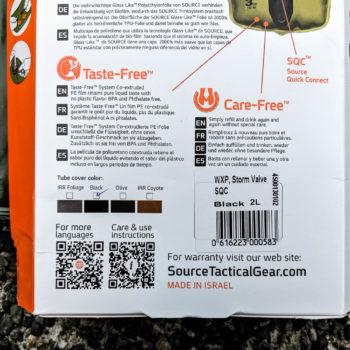 SOURCE Tactical WXP 2L Hydration Bladder System