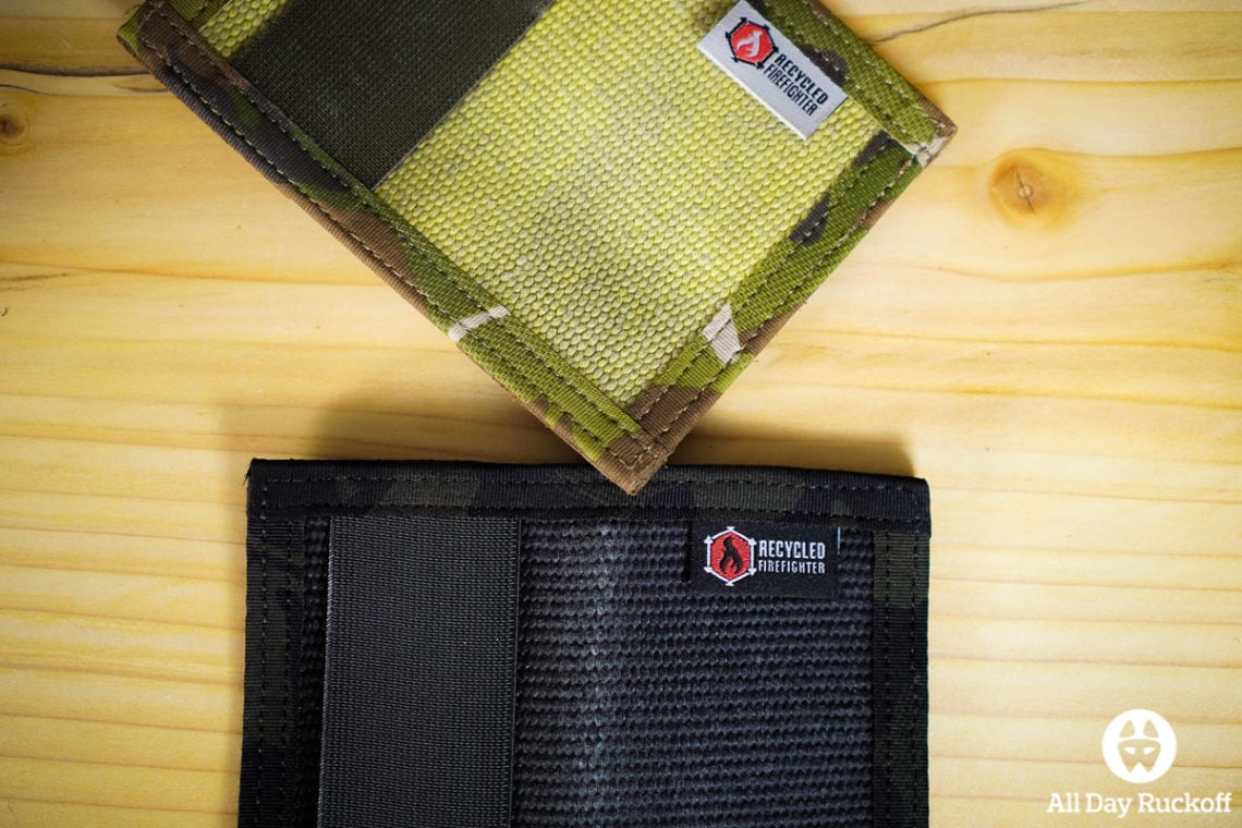 Recycled Firefighter Rookie Wallet First Look + Giveaway