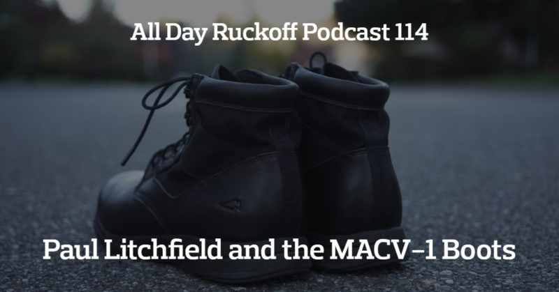 The All Day Ruckoff Podcast - The First Rucking Podcast Ever