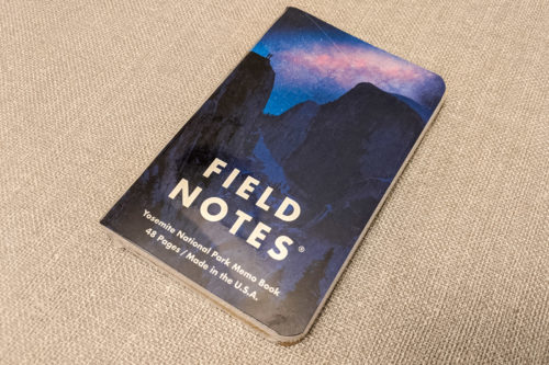 """Field Notes """"National Parks"""" Limited Edition Notebooks (Series A)"""
