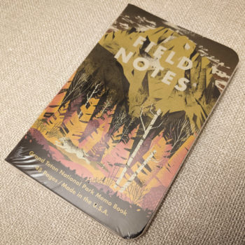 """Field Notes """"National Parks"""" Limited Edition Notebooks (Series D)"""