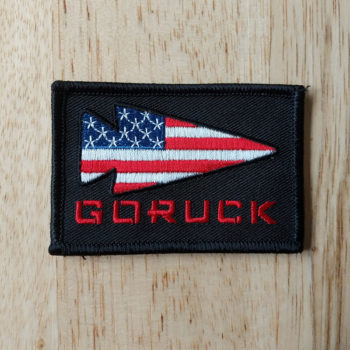 GORUCK USA Logo Patch