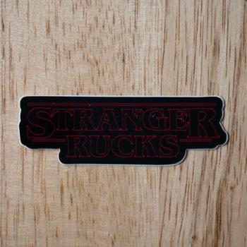 Stranger Rucks Sticker