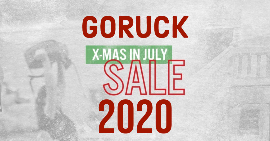 Christmas In July Sales 2020 GORUCK Christmas in July 2020 Sale   All Day Ruckoff