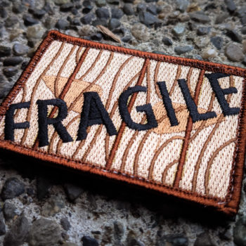 """FRAGILE """"Christmas Story"""" Patch"""
