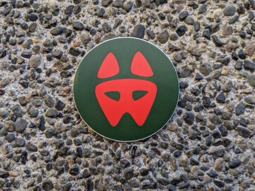 """Christmas 3"""" Logo Sticker"""
