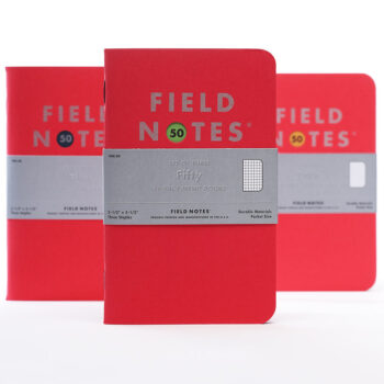 """Field Notes """"Fifty"""" Limited Edition Notebooks"""