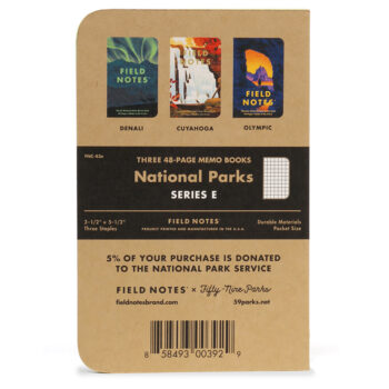 """Field Notes """"National Parks"""" Limited Edition Notebooks (Series E)"""